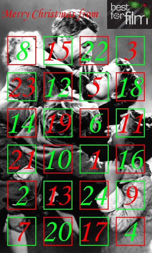 Best For Film Advent Calendar 2011!