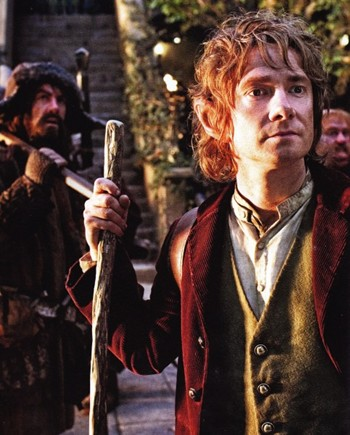 New image of Martin Freeman as Bilbo Baggins