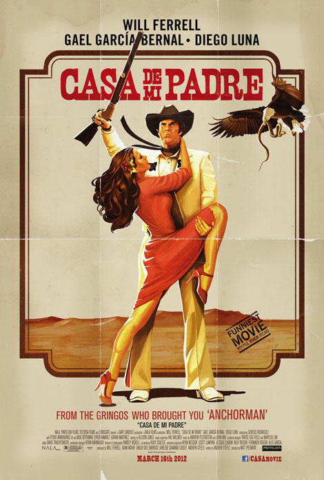 2 new posters for Will Ferrell's Casa De Mi Padre