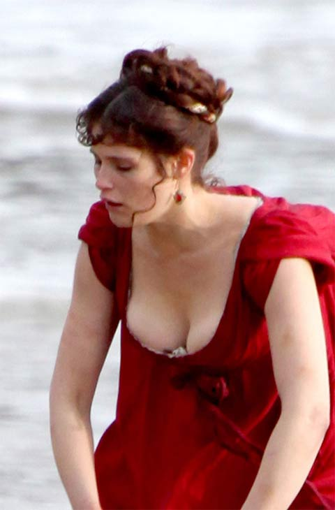 Look! It's Gemma Arterton's breasts! (in a film)