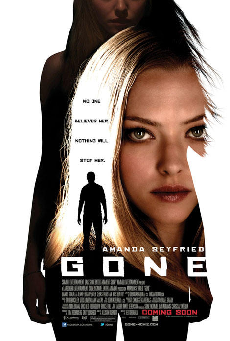 New poster for Amanda Seyfried's Gone