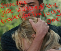 Trailer for Nicholas Sparks' The Lucky One