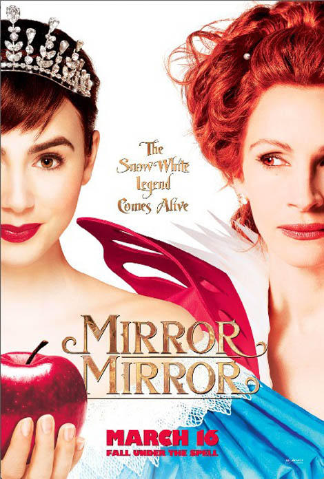 The New Mirror Mirror poster is the worst thing ever