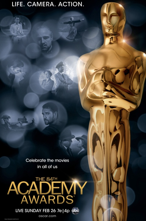 Oscars 2012 get a poster
