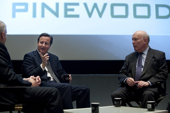David Cameron claims Pinewood Studios