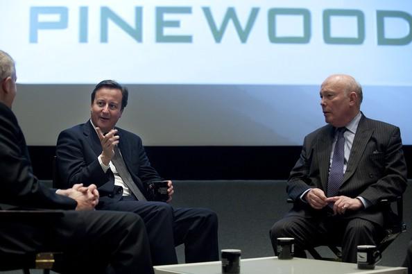 David Cameron claims Pinewood Studios
