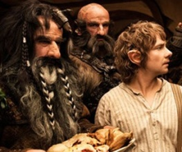 New Hobbit still shows Bilbo catering for the dwarves