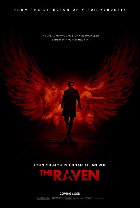 New poster for John Cusack's The Raven