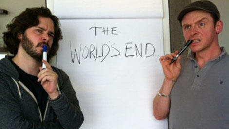 Work finally begins on new Edgar Wright/Simon Pegg flick