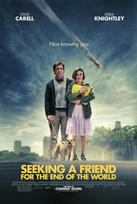 First poster for Steve Carell and Keira Knightley apocalyptic comedy