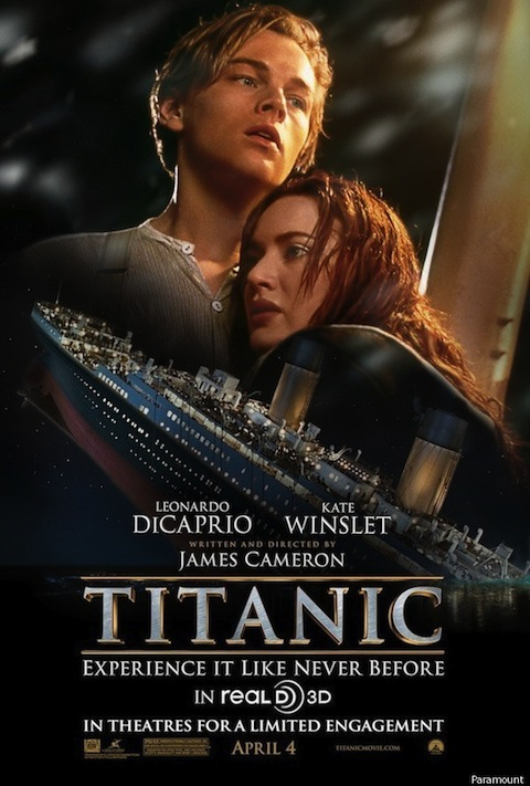 New poster for Titanic gives away the ending