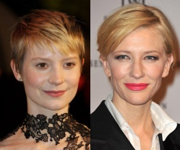 Cate Blanchett and Mia Wasikowska directing things