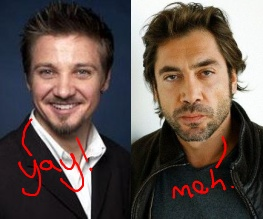 Bardem and Renner in talks for Ridley Scott's The Counselor