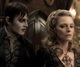 First, rather surprising trailer for Dark Shadows