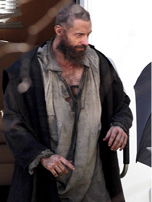 First look at Hugh Jackman in Les Miserables