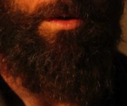 Closer look at Hugh Jackman's Jean Valjean beard