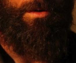 Closer look at Hugh Jackman's Jean Valjean beard