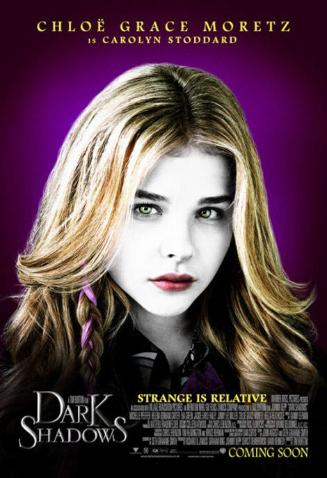 9 new character posters for Tim Burton's Dark Shadows