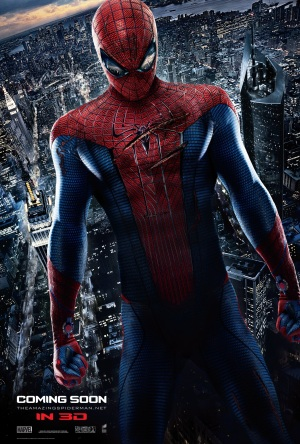 Gorgeous new hi-res poster for The Amazing Spider-Man