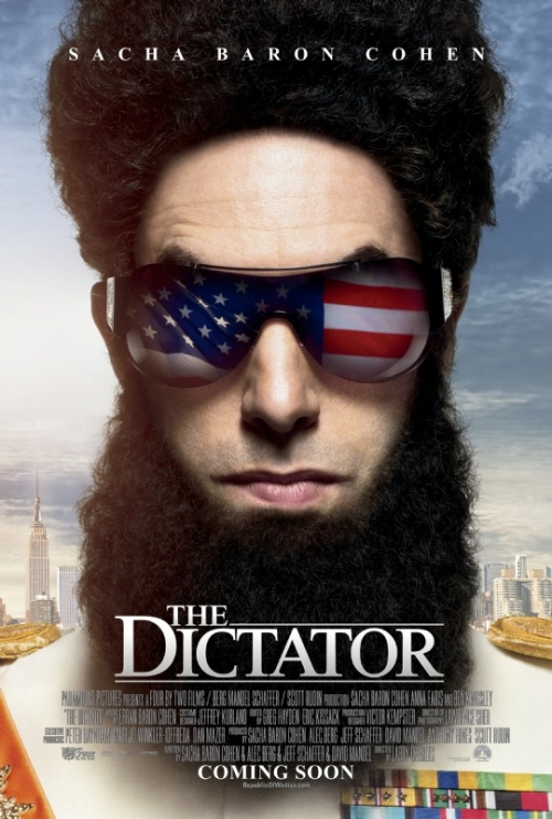 Sacha Baron Cohen's The Dictator poster