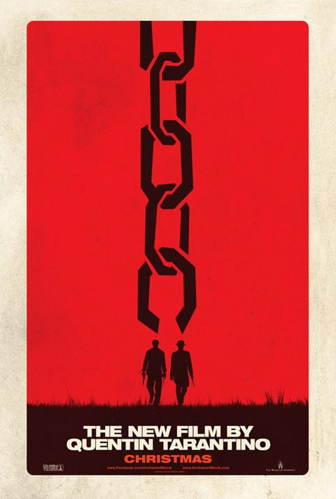 First poster for Tarantino's Django Unchained