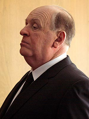 First picture of Anthony Hopkins as Alfred Hitchcock