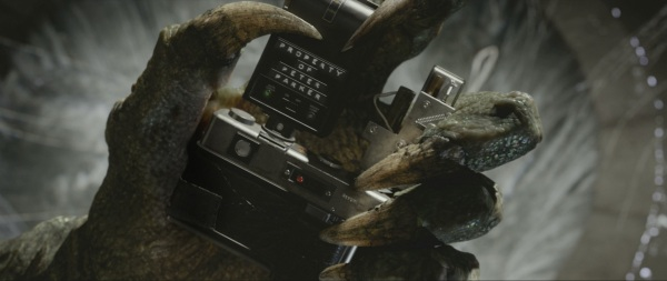 New Lizard images from The Amazing Spider-Man
