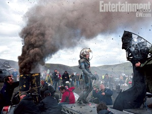 Torrent of new pictures from Prometheus