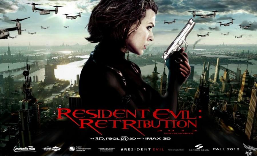 Resident Evil: Retribution gets the banner treatment