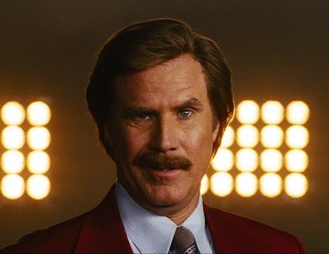 First damn classy picture arrives for Anchorman 2