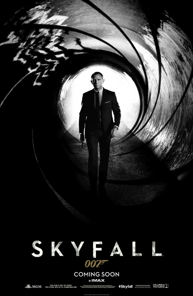 First Skyfall poster keeps it classy | Best For Film