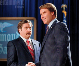 Will Ferrell takes on Zach Galifianakis in 2 clips from The Campaign