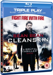 Win: 3 x Cleanskin on DVD – available to own on 2nd July