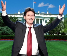 Charlie Sheen to become President of the United States
