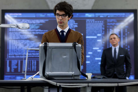 First look at Ben Whishaw as Q