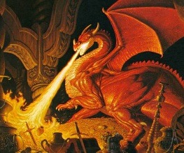 Revealed: Smaug's first appearance in The Hobbit