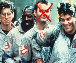 Bill Murray officially out (again) of Ghostbusters 3