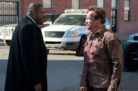 New images for Arnold Schwarzenegger's Last Stand
