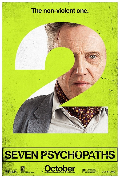 Seven Psychopaths get posters