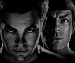 The Enterprise is on a Star Trek Into Darkness