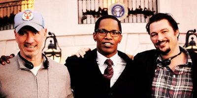 Jamie Foxx in first look at President of White House Down