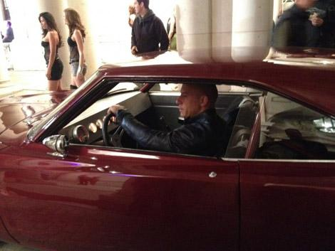 Vin Diesel drops some boring photos of Fast and Furious 6