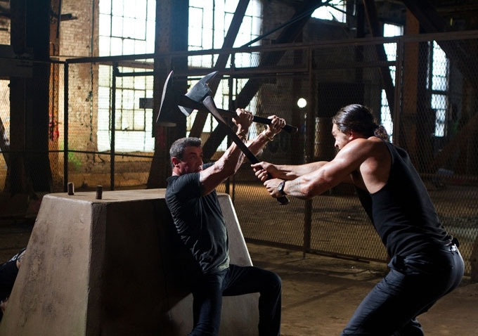 Sylvester Stallone in new images from Bullet to the Head