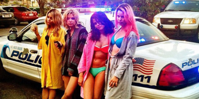 Selena Gomez is James Franco's bitch in Spring Breakers