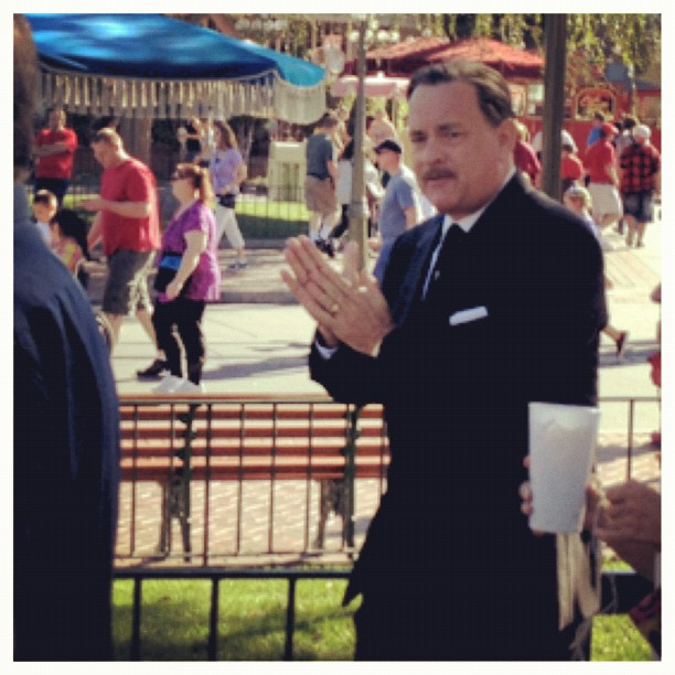 Disney channelled by Tom Hanks: First look