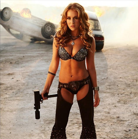 Machete Kills shows off Alexa Vega… all grow'd up, y'all