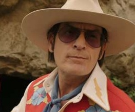 Charlie Sheen's mind cracked open in trailer for Charles Swan