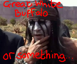 The Lone Ranger gets first racist trailer