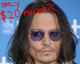 Johnny Depp plays a supercomputer