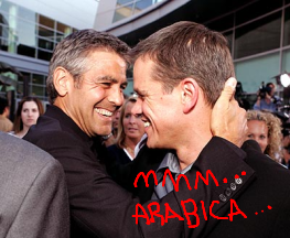 George Clooney and Matt Damon reunite